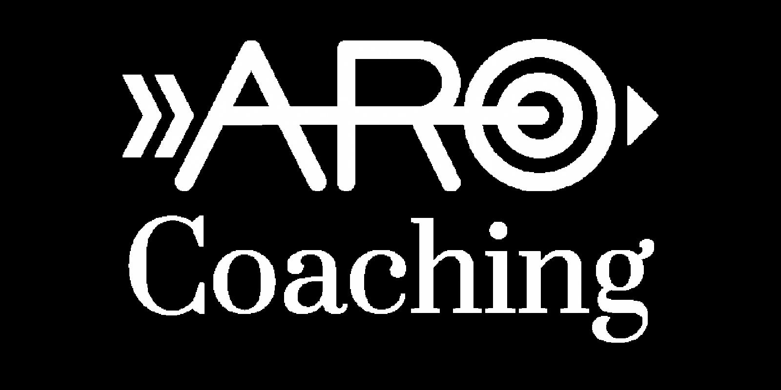 ARO coaching logo_White